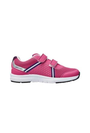 Lescon Pembe Cırtlı Çocuk Spor Ayakkabısı