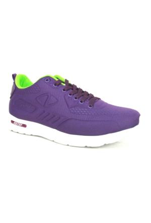 Nstep Percy Mor Neon Bağcıklı Günlük Bayan Spor Ayakkabı