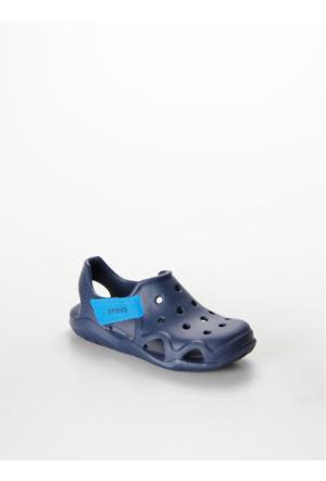 Crocs Swiftwater Wave Navy Çocuk Sandalet