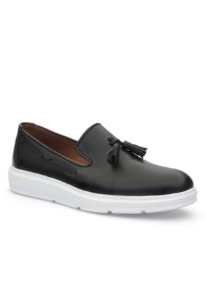Tonny Black Gama Tam Ortopedik Günlük Erkek Ayakkabı Deri