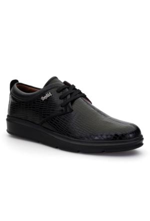 Tonny Black Teta Tam Ortopedik Günlük Erkek Ayakkabı