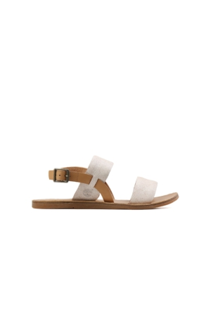 Timberland Krem Kadın Sandalet A1A8C