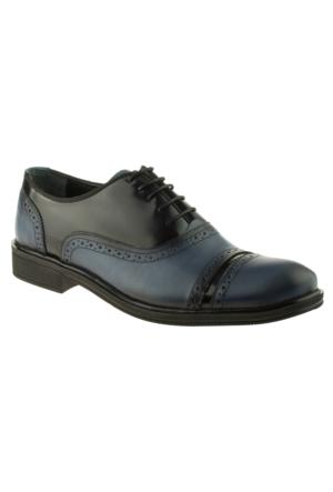 Alisolmaz 1241 Bağlı Klasik Mavi Erkek Ayakkabı