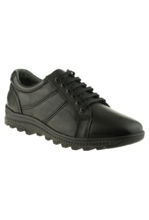 Alisolmaz 1705 Bağlı Günlük Siyah Erkek Ayakkabı