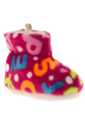 Twigy J0675 Fiona Kids Mini Pembe Kadın Panduf