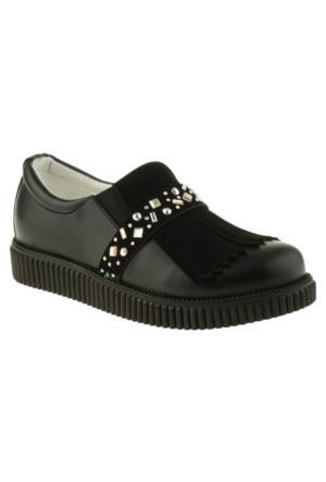 Vicco 970.V.407 Bağsiz Okul Siyah Çocuk Ayakkabı