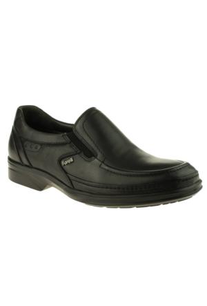 Forelli 11013 Atom Bağsız Comfort Siyah Erkek Ayakkabı