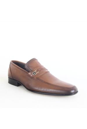 Burç 881 Klasik Erkek Ayakkabı Taba