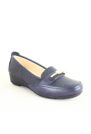 Wanetti 112 Bayan Günlük Ayakkabı Lacivert