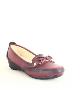 Wanetti 1105 Bayan Günlük Ayakkabı Bordo