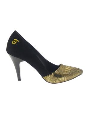 Taymir 9-901-1 Klasik Topuk Kadın Ayakkabı
