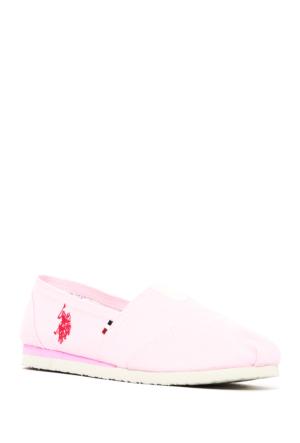 U.S. Polo Assn. Kadın Y7Huff Ayakkabı Pembe