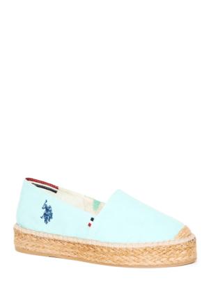 U.S. Polo Assn. Kadın Y7Aliz Ayakkabı Yeşil