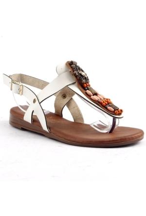 Tofima Parmak Arası Günlük Yürüyüş Kadın Sandalet