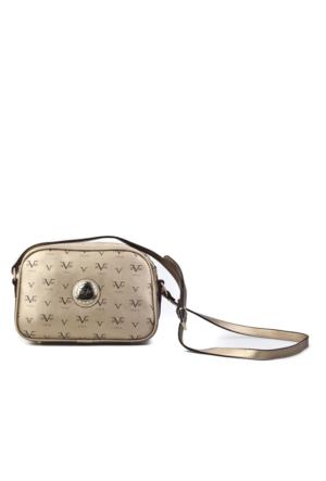Versace 1969 Abbligliamento Omuz Askılı Günlük Kadın Çanta Altın