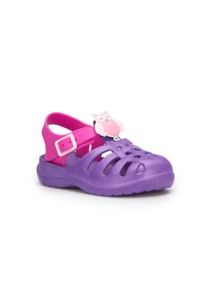 Pink Step Lasyo Mor Kız Çocuk Sandalet