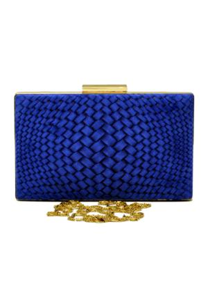 David Jones Kadın Abiye Çanta Mavi