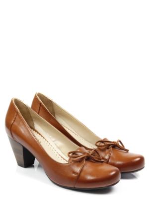 Gön Deri Kadın Ayakkabı 22366