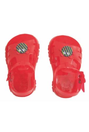 Tuc Tuc Çocuk Jelly Sandalet Petit Patch Kırmızı