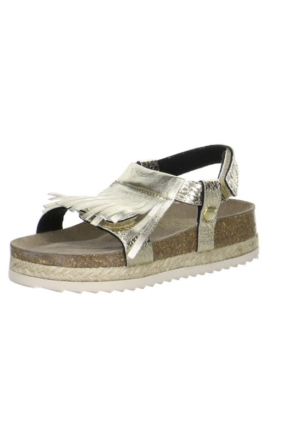 Super Fit Kız Çocuk Sandalet Gold Tecno 122.13 Altın