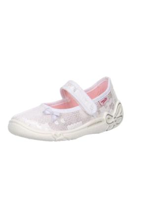 Super Fit Kız Çocuk Ev Ayakkabısı Belinda 287.50 Beyaz