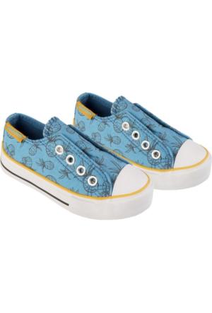 Tuc Tuc Çocuk Canvas Ayakkabı Pineapple Petrol