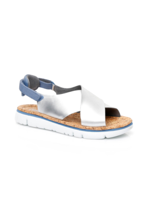 Camper Oruga Kadın Gümüş Sandalet K200157.006