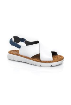 Camper Oruga Kadın Beyaz Sandalet K200157.007