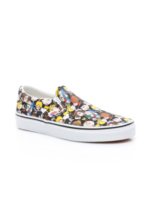 Vans Peanuts Ua Classic Slip - On Kadın Renkli Sneaker Va38F7Oqx