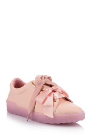DeFacto Kadın Bağcıklı Kurdeleli Ayakkabı Pembe