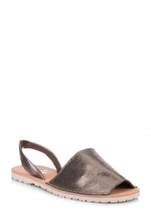 DeFacto Kadın Sandalet Gri