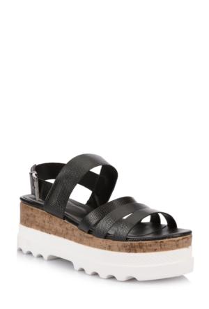 DeFacto Kadın Sandalet Siyah