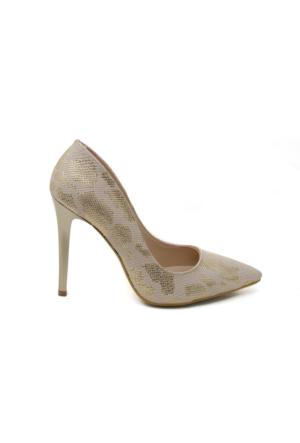 Topuklu Ayakkabı - Altın - Ayakkabı Havuzu