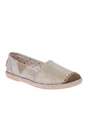 Shalin Pullu Kadın Espardil Ayakkabı 253 Dore