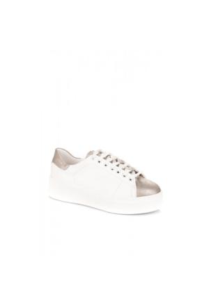 Elle Marelda Bayan Ayakkabı Beyaz Füme