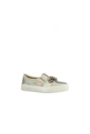 Elle Aldonza Bayan Ayakkabı Bej