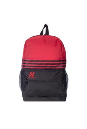 Hi-Bag Sırt Çantası HCSRT40 Kırmızı