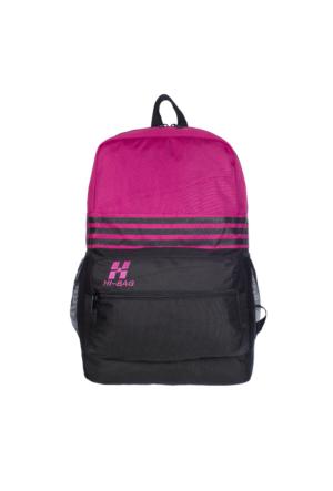 Hi-Bag Sırt Çantası HCSRT40 Pembe