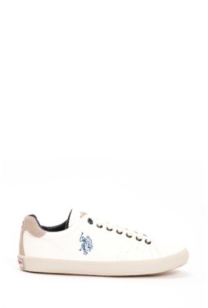 U.S. Polo Assn. Kadın K5Leigh1 Ayakkabı Beyaz