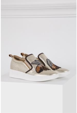 İlvi Krezi Gm-365 Günlük Ayakkabı Altın