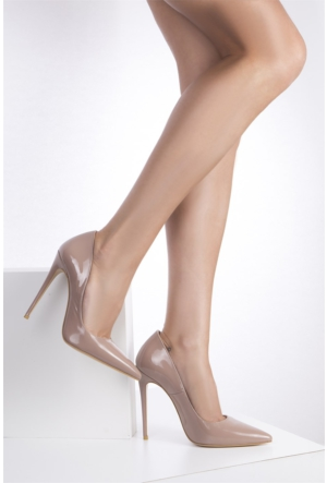 İlvi Melitta 1038 Stiletto Vizon Rugan