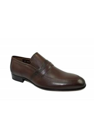 Burç 2231 Erkek Hakiki Deri Ayakkabı