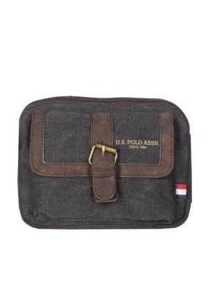 U.S. Polo Assn. Çapraz Çanta Plevre7157 Antrasit