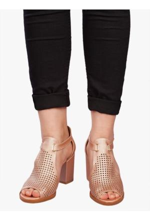 Marla Karen 7004 Bronz Sandalet