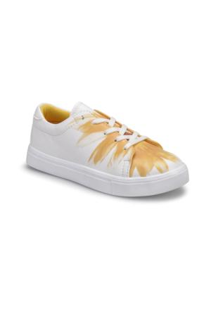 Art Bella U1301 Sarı Kadın Sneaker