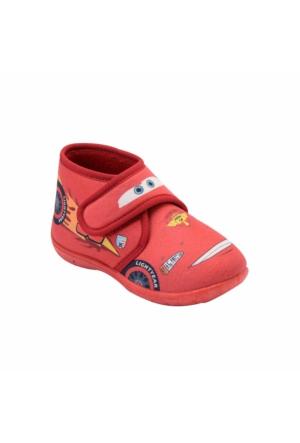 Cars 90001 Ec Kırmızı Erkek Çocuk Panduf