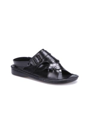 Flexall 45 M 1625 Siyah Erkek Sandalet