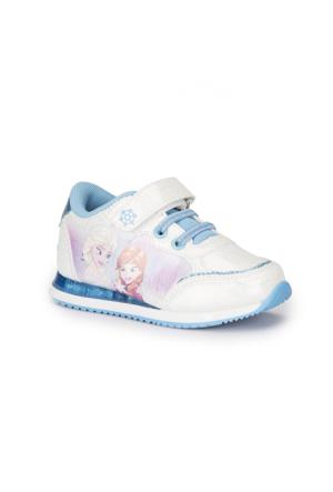 Frozen Lou Beyaz Kız Çocuk Ayakkabı