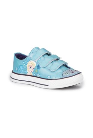 Frozen Shery Mavi Kız Çocuk Ayakkabı