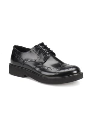 Garamond 75419-1 Siyah Erkek Deri Ayakkabı